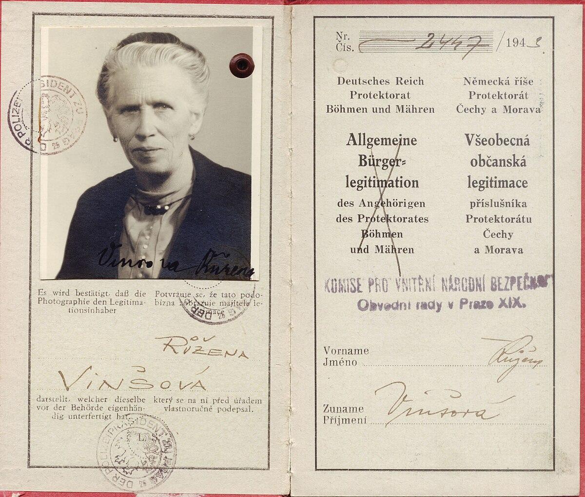 Carta didentit  Wikipedia