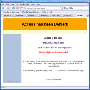 whitehouse.com in Firefox through Dan's Guardian