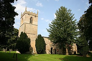 English: St.Mary's church, Egmanton. A small u...