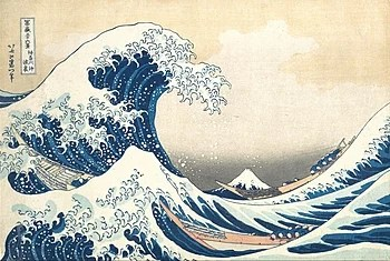 the great wave off
