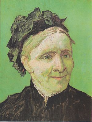 Portrait of the artis's mother
