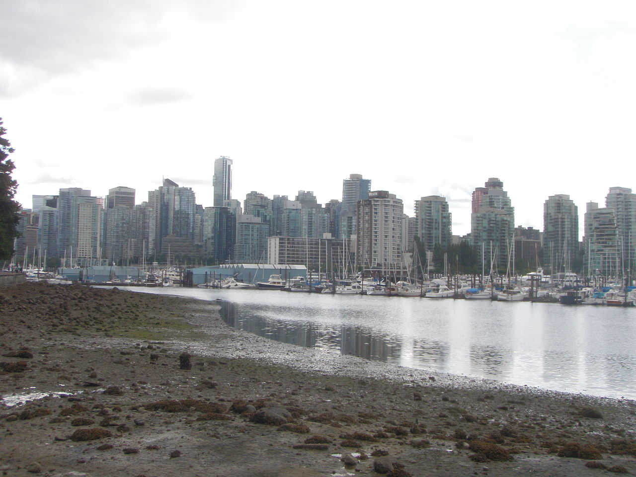 File Vancouver B C Canada From Stanley Park