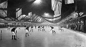 English: Photograph - Hockey Match, Victoria R...