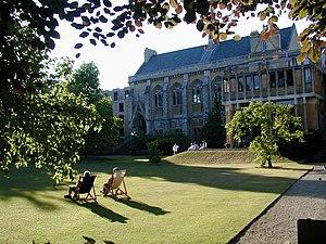 Balliol College Garden