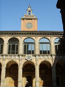 Archiginnasio of Bologna  Wikipedia