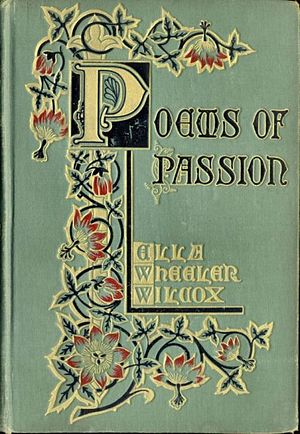 Cover of the first edition of Poems of Passion...