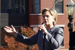 Hillary Clinton in Concord, New Hampshire