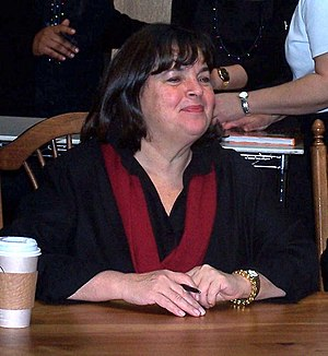 English: Ina Garten at a book signing in Chape...