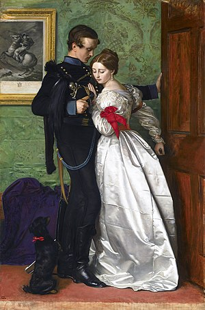 The Black Brunswicker by John Everett Millais,...