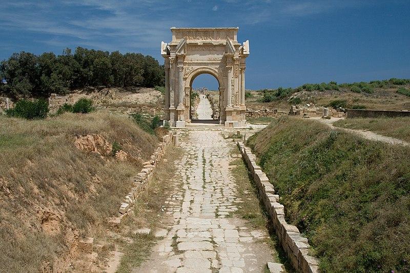 File:Libya 5458 Leptis Magna Luca Galuzzi 2007.jpg