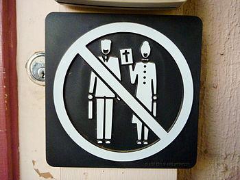 No Preaching sign in Australia