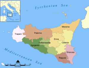 Provinces of Sicily.