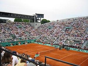 Susan Leglen Stadium at Roland Garros