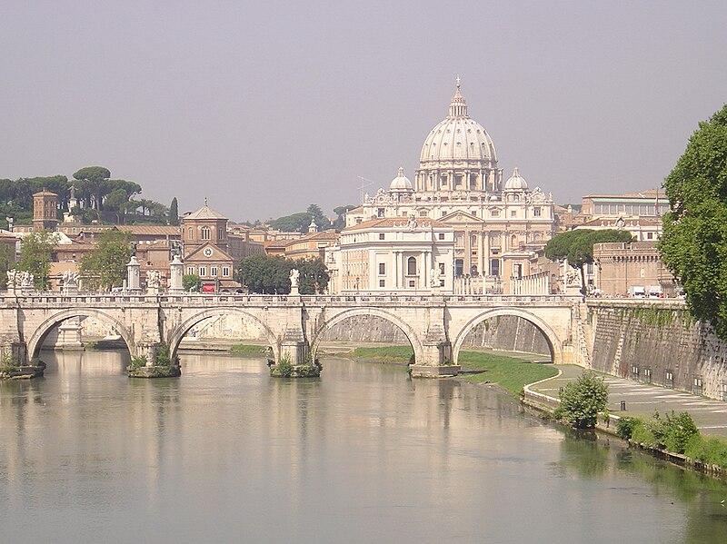 Archivo:Rome - Vatican Pont Saint Ange 02.jpg