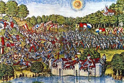 Schlacht bei Sempach Aquarell 1513 crop