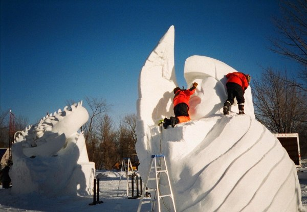 Snow Sculpture - Wikipedia