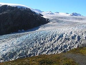 Exit Glacier, Alaska.