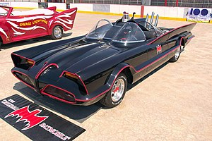 Bat Mobile. Special Presentation of Cars Used ...