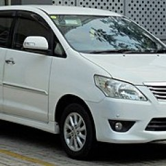 All New Kijang Innova Diesel Interior Grand Avanza Tipe E Toyota Wikipedia 2012 V An40 Second Facelift Indonesia