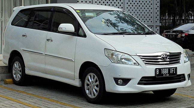 top speed all new kijang innova harga mobil vellfire toyota wikiwand 2012 v an40 second facelift indonesia