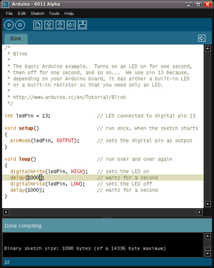 Contoh Program Arduino : contoh, program, arduino, Arduino, Wikipedia, Bahasa, Indonesia,, Ensiklopedia, Bebas