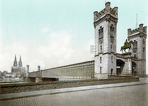 Cologne railway bridge loc00861v