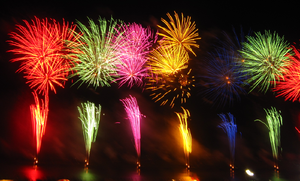 English: 352nd Chikugo river Fireworks Festiva...