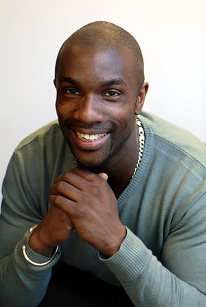 English: Portrait of Derek Redmond taken in 2007