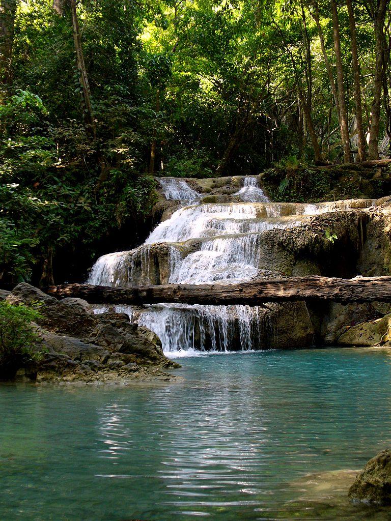 File Erawan National Park Kanchanaburi Thailand