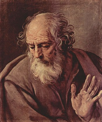 Saint Joseph by Guido Reni, c. 1640.