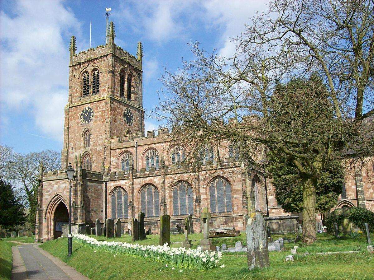 Grade I Listed Churches In Staffordshire  Wikipedia