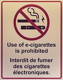 regulation of electronic cigarettes