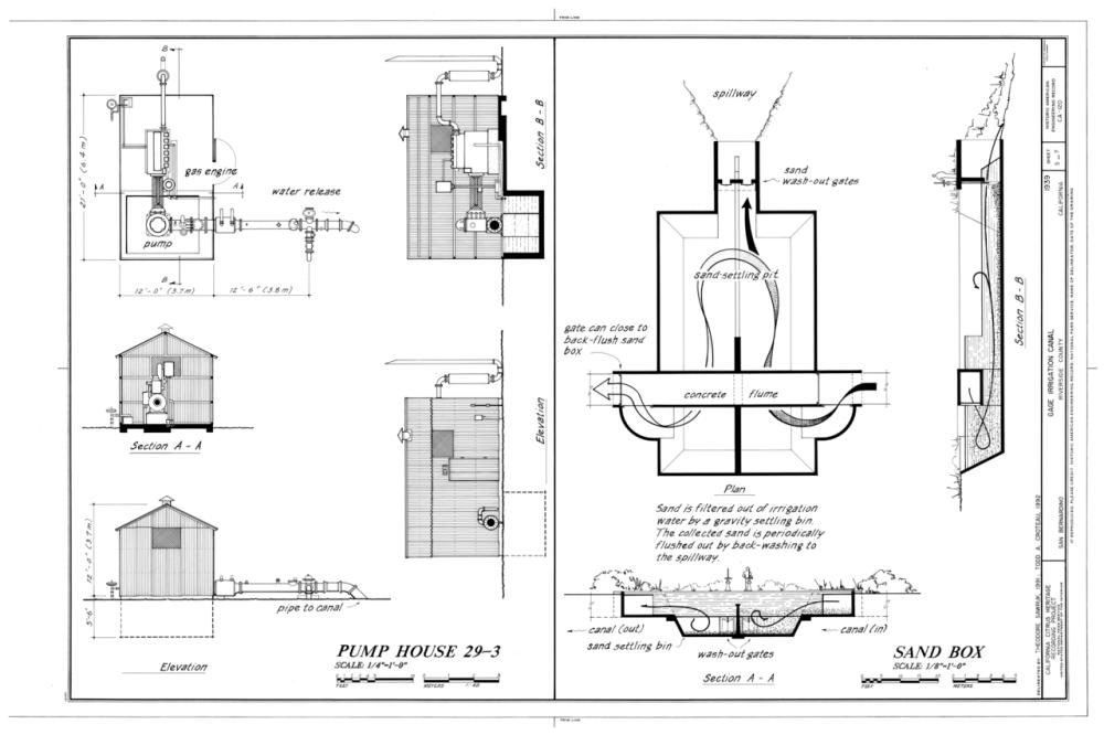 medium resolution of file pump house 29 3 sand box gage irrigation canal running from santa ana river to arlington heights riverside riverside county ca haer cal 33 rivsi