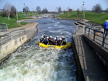 Rafting, National Watersports Centre - geograph.org.uk - 385071