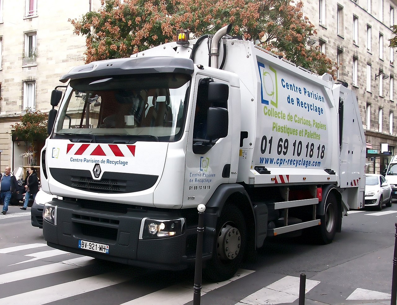 FileRenault Premium camion poubelle ParisJPG  Wikimedia Commons