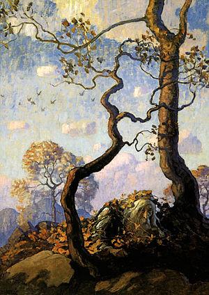 Rip Van Winkle Illustration by NC Wyeth