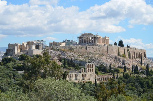 The Acropolis of Athens viewed from the Hill of the Muses (14220794964)