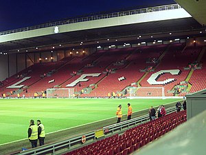 Liverpool - Anfield, The Kop