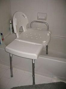 shower chair vs tub transfer bench air ski wikipedia