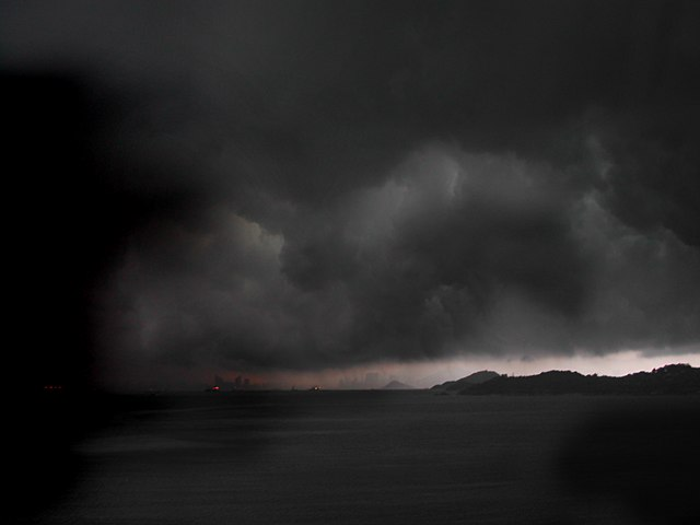http://commons.wikimedia.org/wiki/File:Typhoon_in_Hong_Kong.jpg