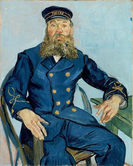 Vincent van Gogh - Portret van de postbode Joseph Roulin