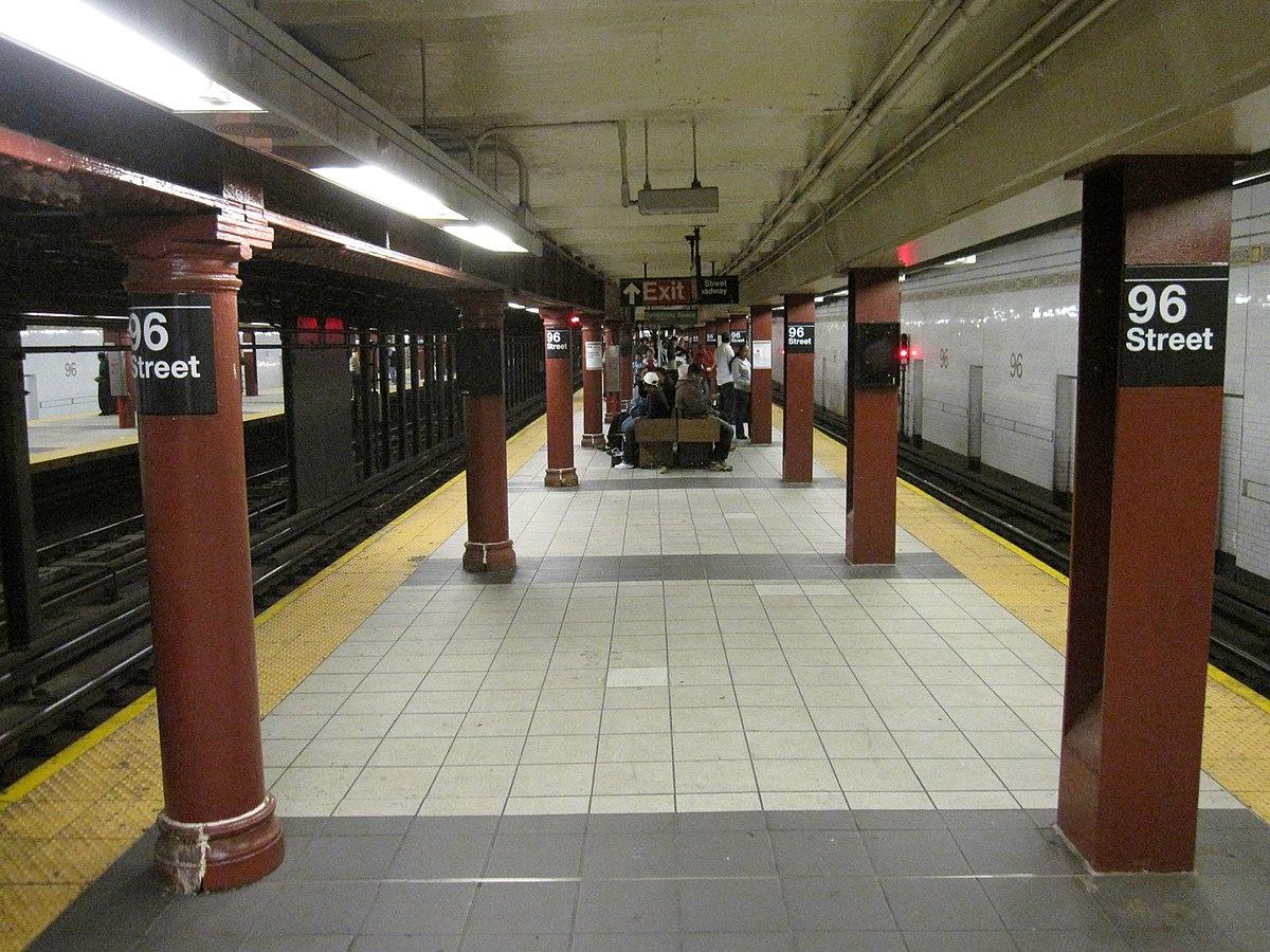96th Street Station Irt Broadway Seventh Avenue Line