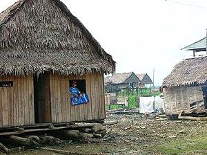 House in Belén, Peru.