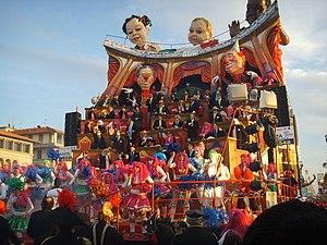 Carnevale di viareggio 2008, uer iz de party