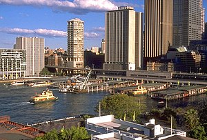 Circular Quay (the quay itself is located in S...