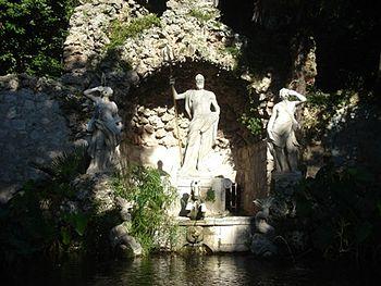 Fontana - Arboretum Trsteno