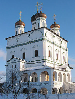 The katholikon of Volokolamsk Monastery of St....