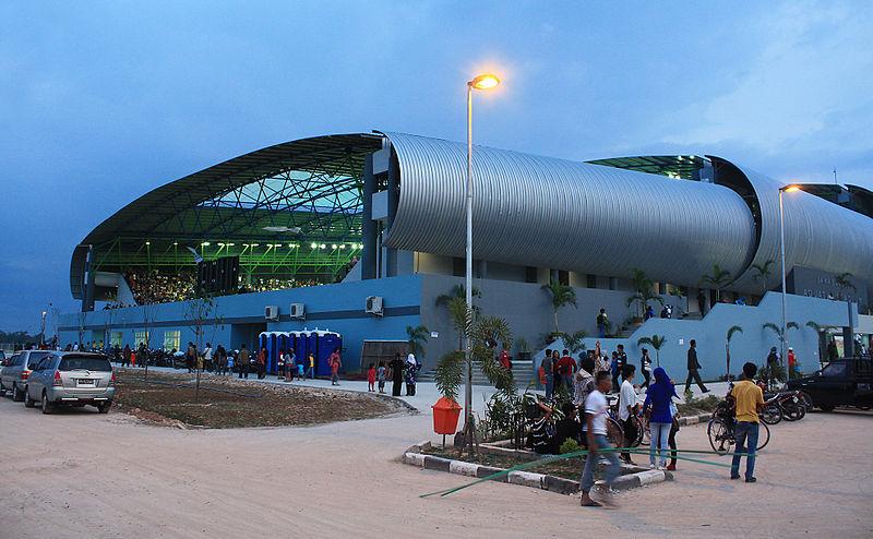 File:Jakabaring Aquatic Center, SEA Games 2011 Palembang 1.jpg
