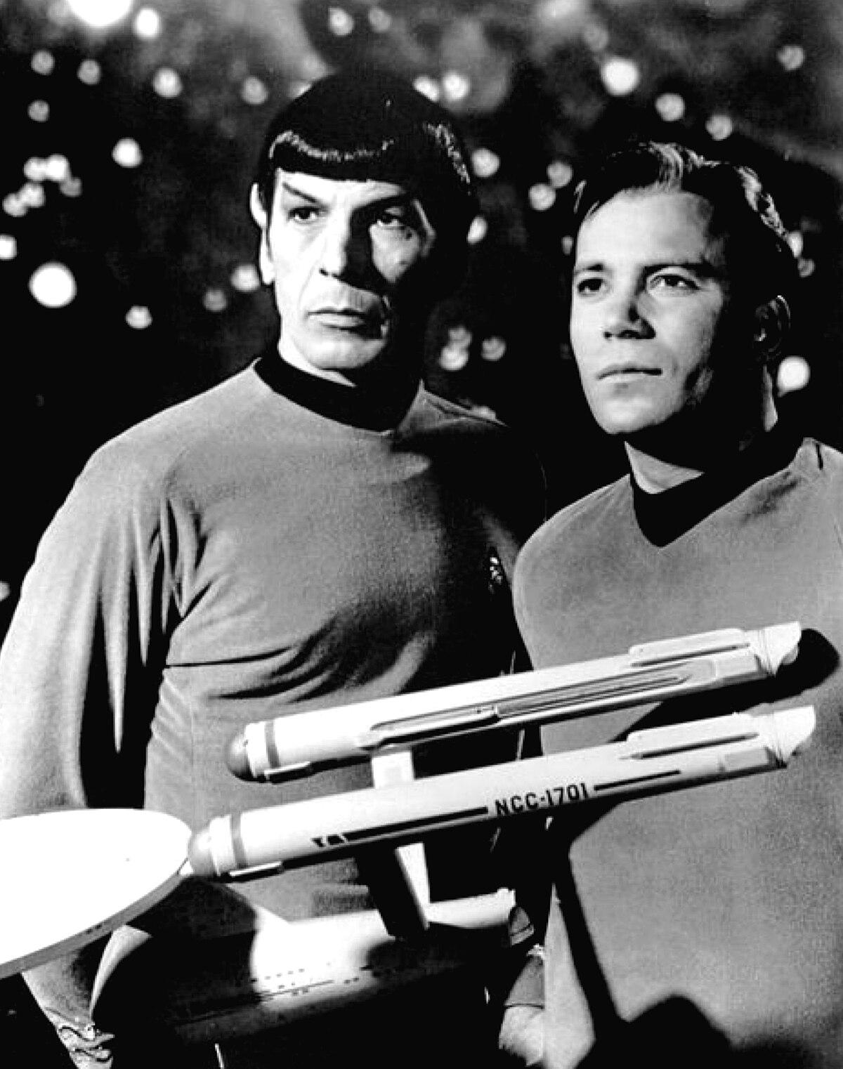 Leonard Nimoy William Shatner Star Trek 1968.JPG