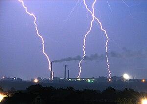 English: Lightning